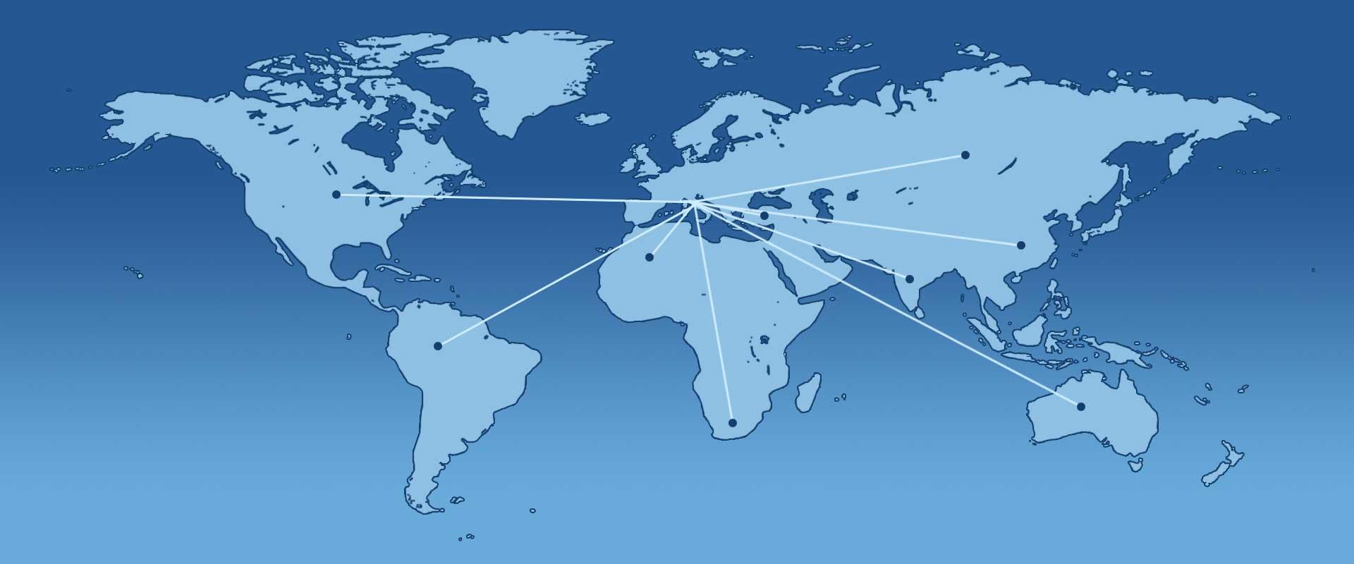 AGR filtri impianti di filtrazione nel mondo