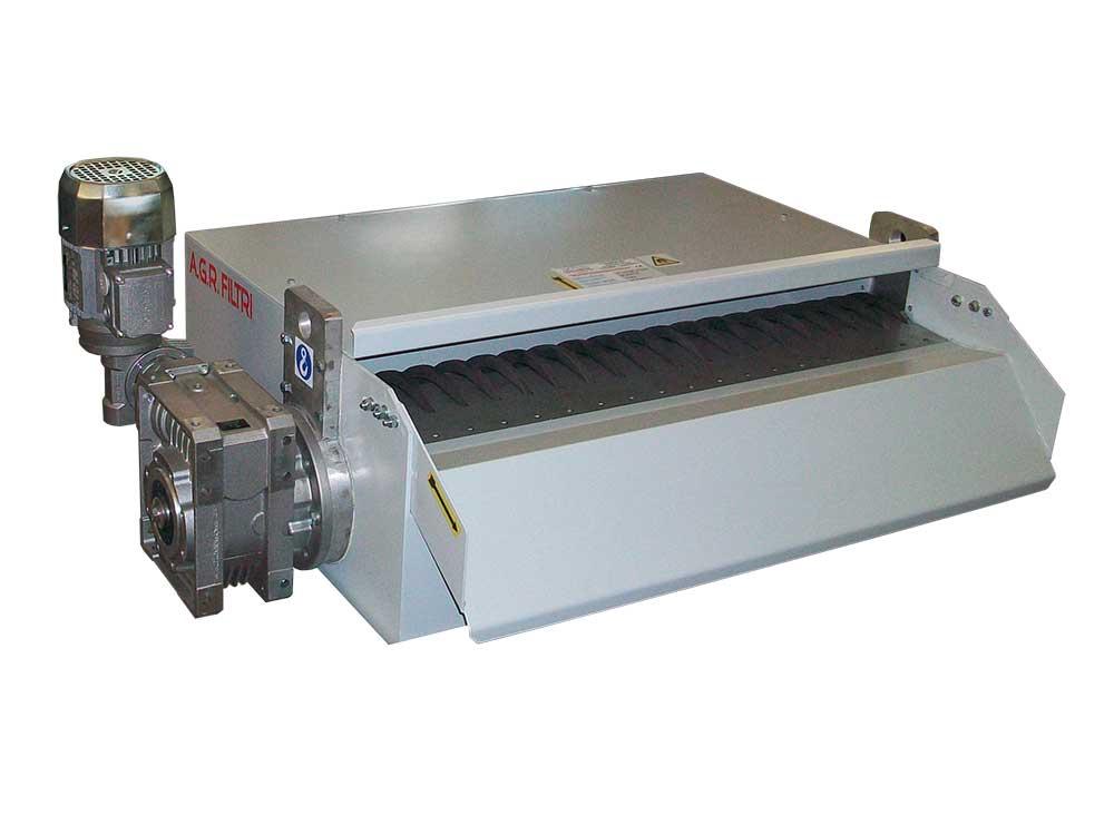 Seapratori magnetici automatici serie AGM per la depurazione dei liquidi lubrorefrigeranti utilizzati nelle lavorazioni di metalli ferrosi.