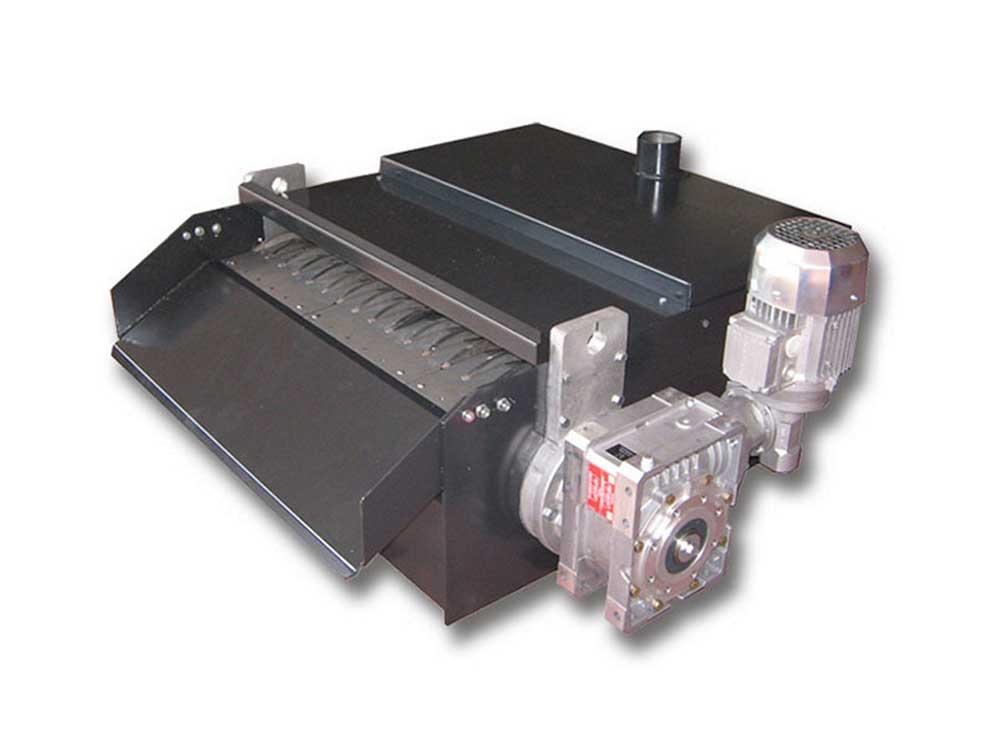 Seapratori magnetici automatici per la depurazione dei liquidi lubrorefrigeranti utilizzati nelle lavorazioni di metalli ferrosi.