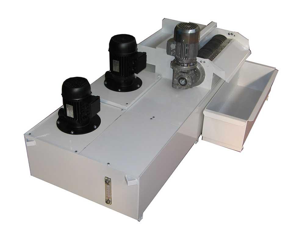Seapratori magnetici automatici serie AGM per la depurazione dei liquidi lubrorefrigeranti